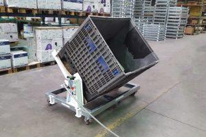Ergonomischer Plattformwagen